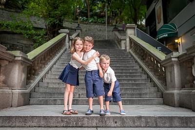 Elisa and Nick Family Hong Kong