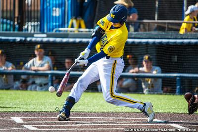 5-2-15 Michigan Baseball Vs Iowa Game 2