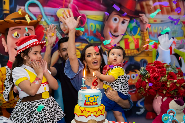 Festa do Toy Story no Espaço Sonho Meu da Laura e Pedro