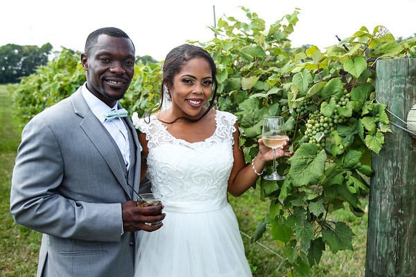 Caralee + Kwasi: Wedding at Mallow Run