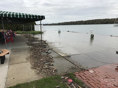 Niagara Flooding 2017:  Youngstown Yacht Club