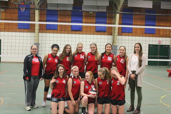Winter Girls' Volleyball Team Photos