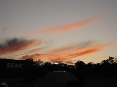 Sunset 10.28.09