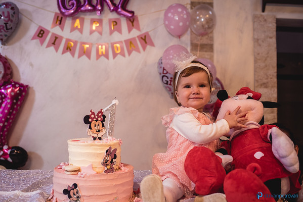 Giulia - 1st birthday party