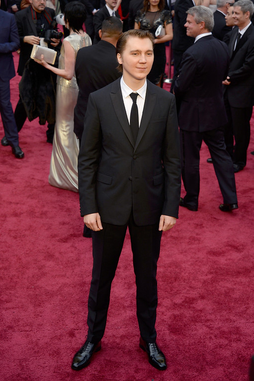 . Actor Paul Dano attends the Oscars held at Hollywood & Highland Center on March 2, 2014 in Hollywood, California.  (Photo by Kevork Djansezian/Getty Images)