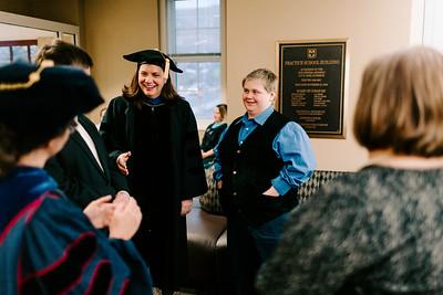 GSSI Graduate Reception, Winter 2018