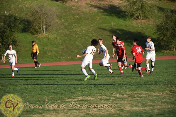 2-1-18 Boys JV and Varsity Soccer VS Foothill Tech
