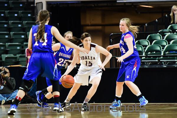 Girls 1A Championship Game: Idalia vs Briggsdale -  March 12th 2016