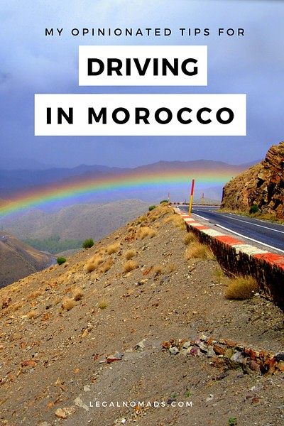 driving in morocco tips