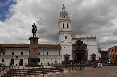 Sept. 16th Sunday afternoon walk Centro Historico Quito