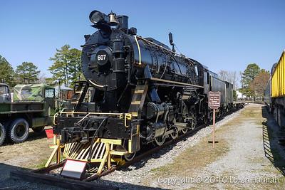 US Army Transportation Museum - Fort Eustis, VA - TRAINS