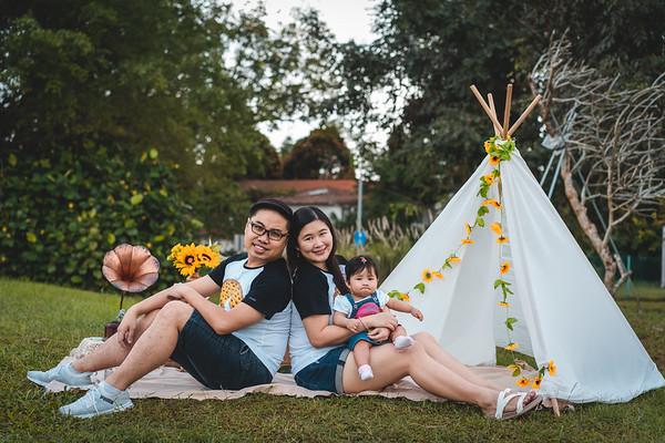Xavier and Xiuyun Family Photos
