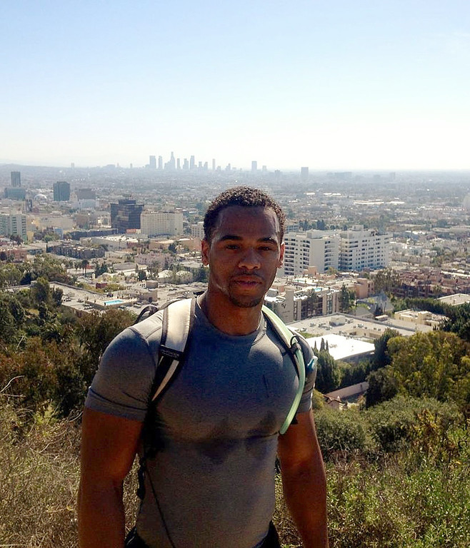 . San Bernardino police are searching for Edly Atherley, 33, of San Bernardino, for questioning in the stabbing and beating death of his wife, Ashley, 28. (Courtesy photo)