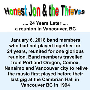 Honest Jon & the Thieves - 24 Years Later