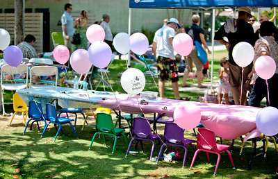 Mila Klien's 3rd birthday July 2011