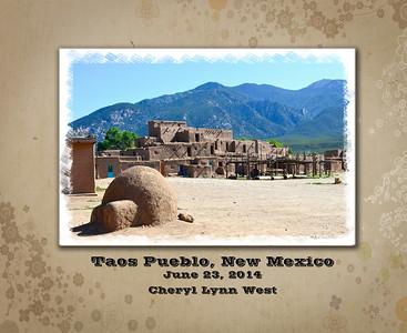 Taos Pueblo Book