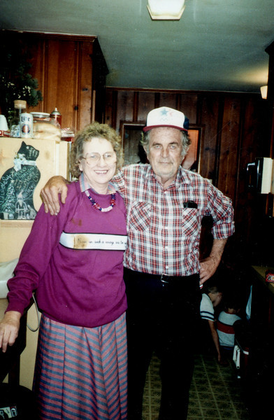 Maria and Rip Smock Christmas 1993