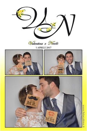 Matrimonio Nicolò e Valentina - 1 Aprile 2017 - photobooth con fotocabina fotobox