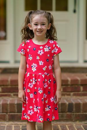 20190801 Brielle First Day Kindergarten