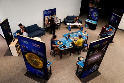 Sun Earth Universe exhibition  final prototype