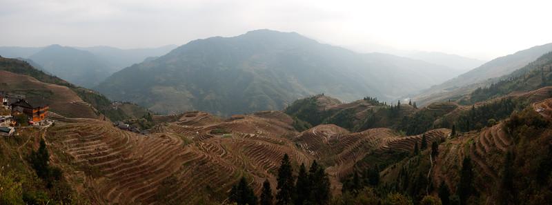Dragon's backbone terraces, Longshen, China