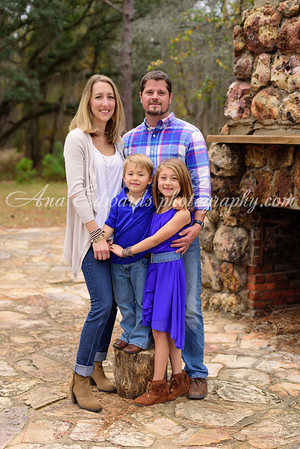 The Passinault family  |  Albany, Georgia