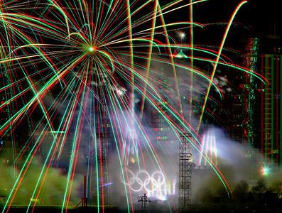 Olympics 2010 Fireworks
