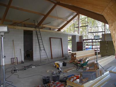 Nieuw clubgebouw 16 augustus 2005