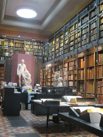 Royal Academy Library & Bentham Exhibition
