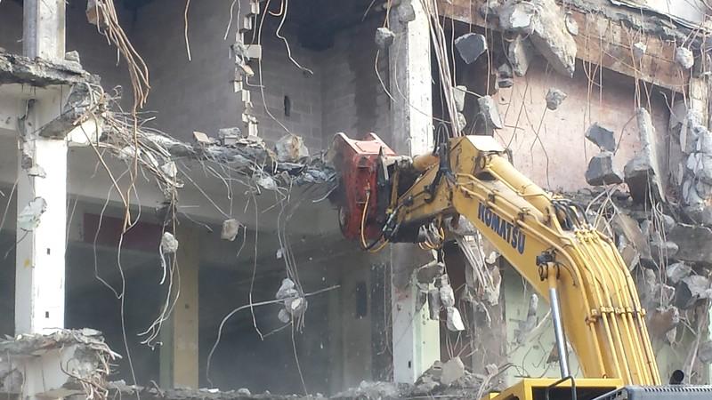 NPK U45JR concrete pulverizer on Komatsu excavator - commercial demolition (6).jpg