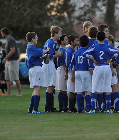 Middle School Soccer-2011
