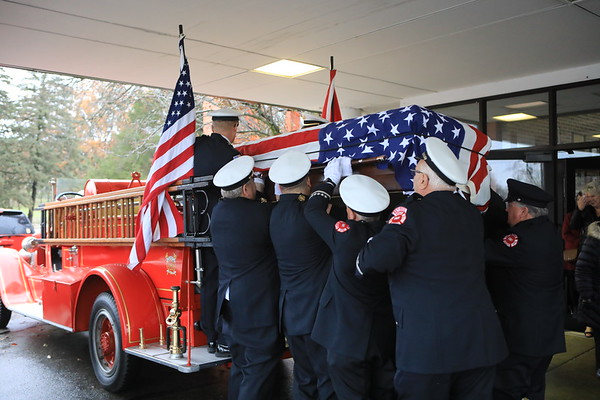 Cary Fire Protection District Retired Fire Chief William Gitzke Funeral Rest In Peace Sir