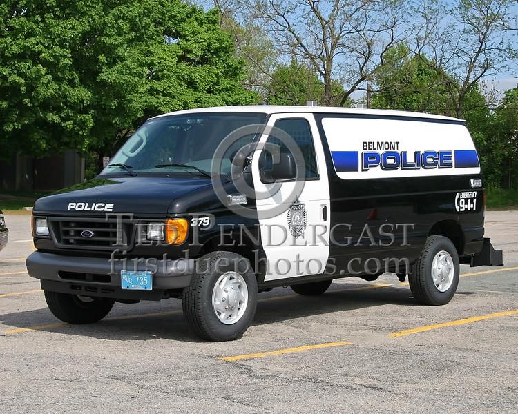 Belmont,Mass. Police Vehicles - May 12, 2007