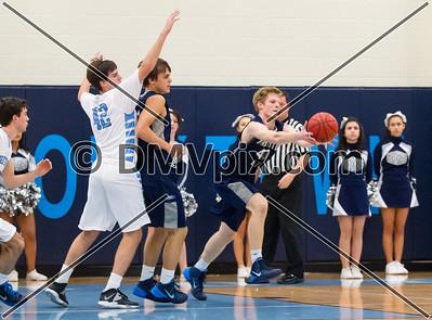W-L @ Yorktown Boys Varsity Basketball (10 Jan 2014)