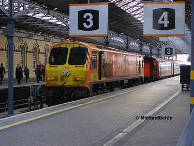 Dublin (Rail), 11-09-2008