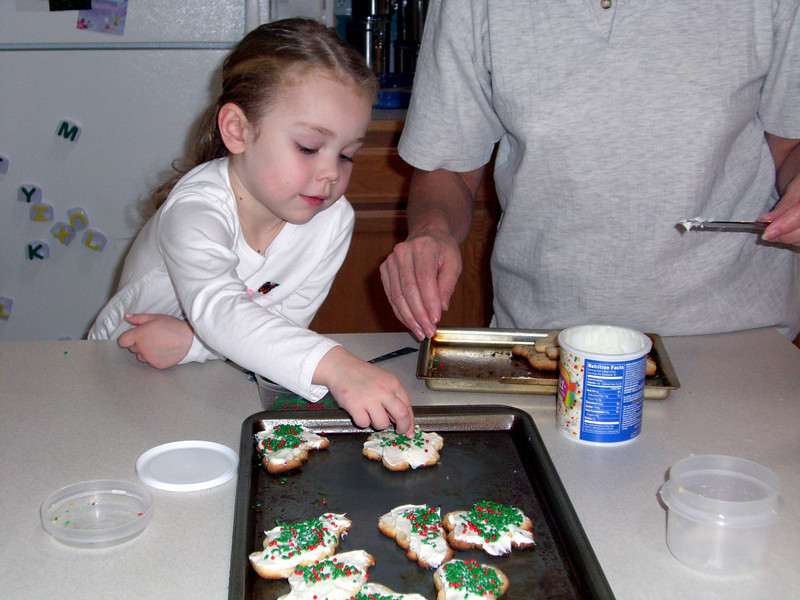 Hmm, let's try that frosting...one more time. :)