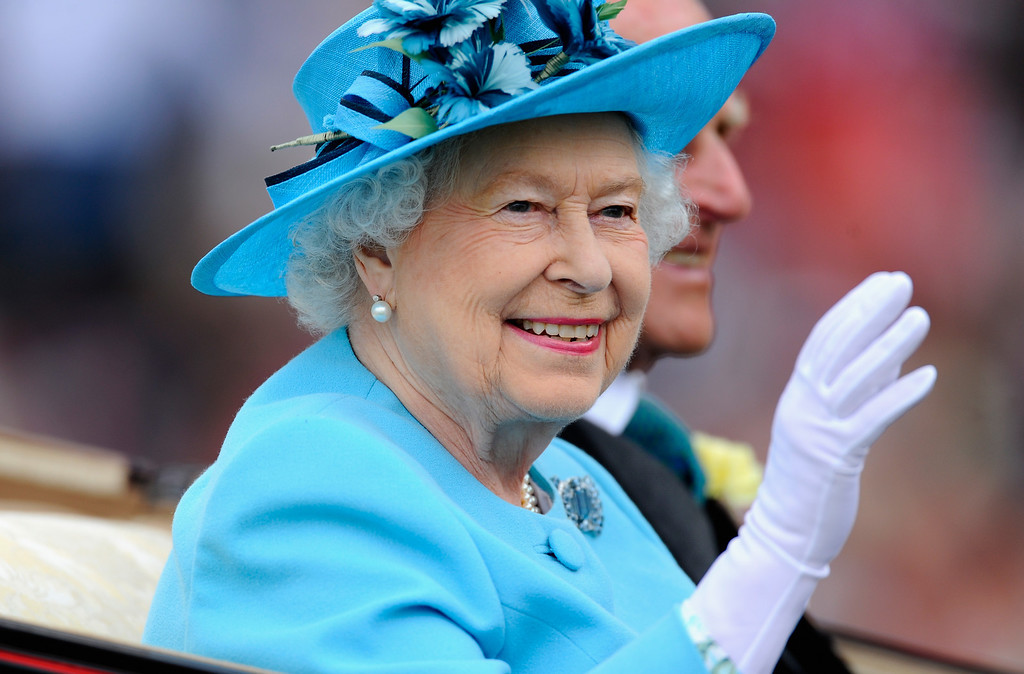 . Queen Elizabeth II during the Royal Procession on day three of Royal Ascot at Ascot Racecourse on June 19, 2014 in Ascot, England.  (Photo by Alan Crowhurst/Getty Images for Ascot Racecourse)