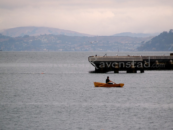 Alcatraz and Aquatic Park