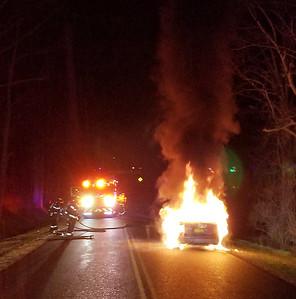 EAFD Car Fire