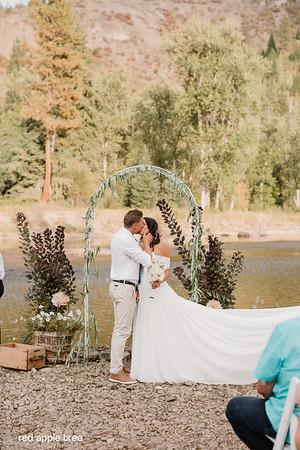 Miranda + Dave Wedding