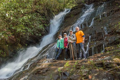 Hike to Indian Camp Creek: A Gallery
