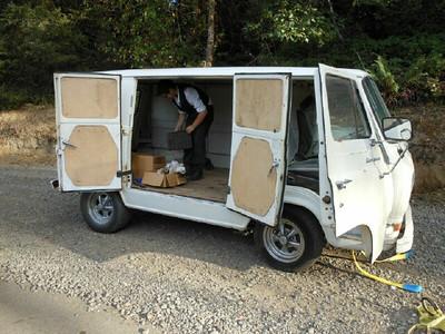 64 Ford Cargo Van Restore