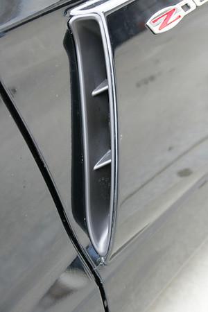 2009 Black Chevy Corvette ZO6