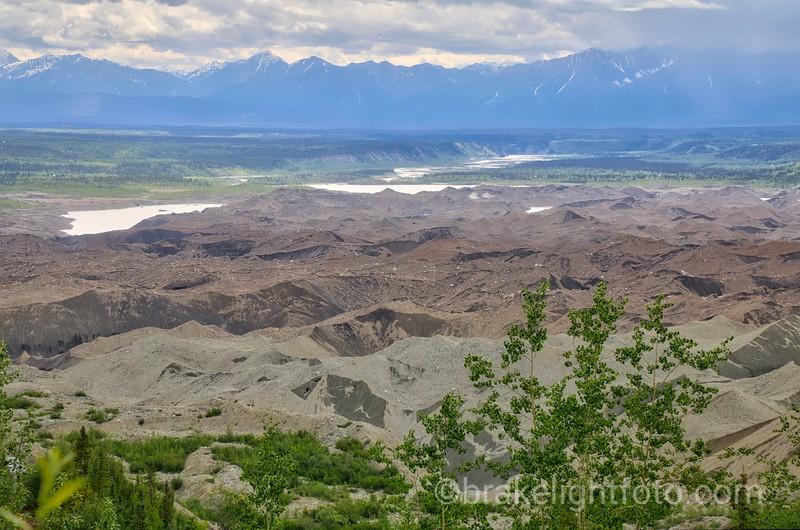 Kennicott Glacier & Kennecott River