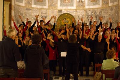 Ökumenischer Gospelchor Rietberg Jerusalem Performance
