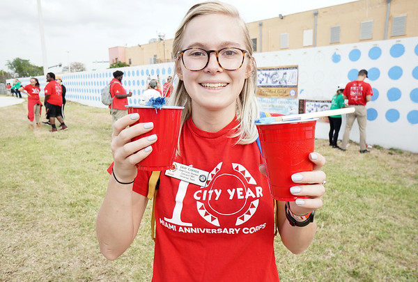 Comcast Cares Day 2018 - City Year Miami