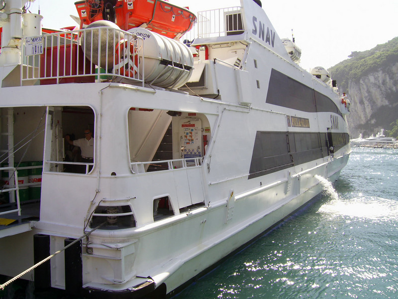 2007 - HSC SNAV ORION in Capri.