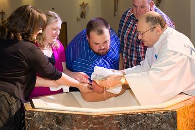 Mateo Kirby Baptism