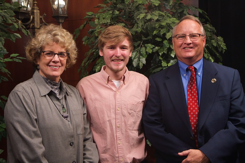 Scholarship Luncheon; Fall 2015. Will and Joanie Mabry