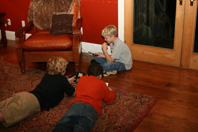 Joey, Wyatt and Edward